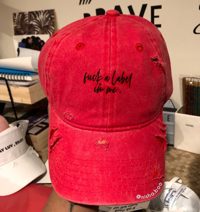 F*ck A Label , Im Me Baseball Cap