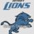 Detroit Lions - SC - 190x240 Throw - Graph w/written - Design by Graph Designs