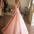 Unique Prom Dresses,Ball Gown Prom Dresses,Strapless Prom Dress,Pink Prom