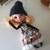 HANDMADE OOAK dress for blythe, collection Alice: black color