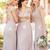 Chiffon Floor Length Bridesmaids Dress
