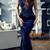 Selling Elegant Straps Taffeta Long Prom Dress Evening Dress Mermaid flower