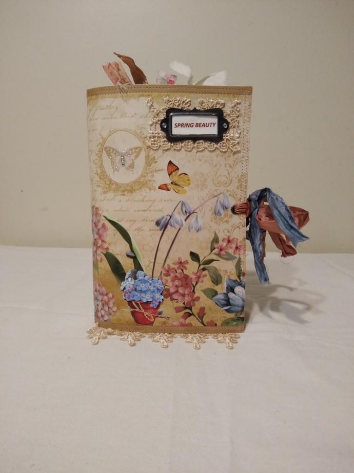 """Spring Beauty"" Journal"