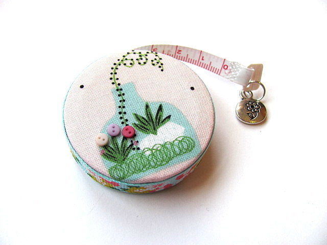 Retractable Tape Measure  Terrarium Garden Pocket Measuring Tape
