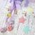 Gorguss Girl Shabby Chic Easter Egg in Lavender