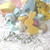 Pastel Miniature Gumball Easter Wonderland in Blue or Yellow
