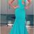 Mermaid Prom Dresses,Mermaid Formal Gowns, Prom Dresses Long,Halter Prom