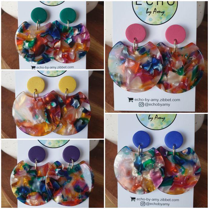 Rainbow Dangles - choose colour