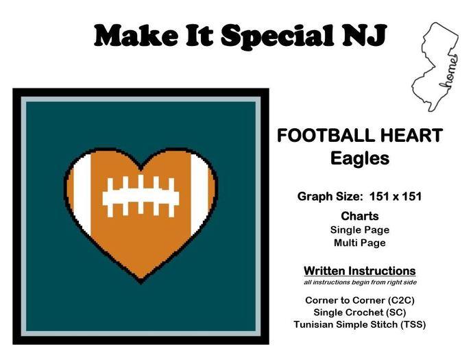 Heart the Philadelphia Eagles