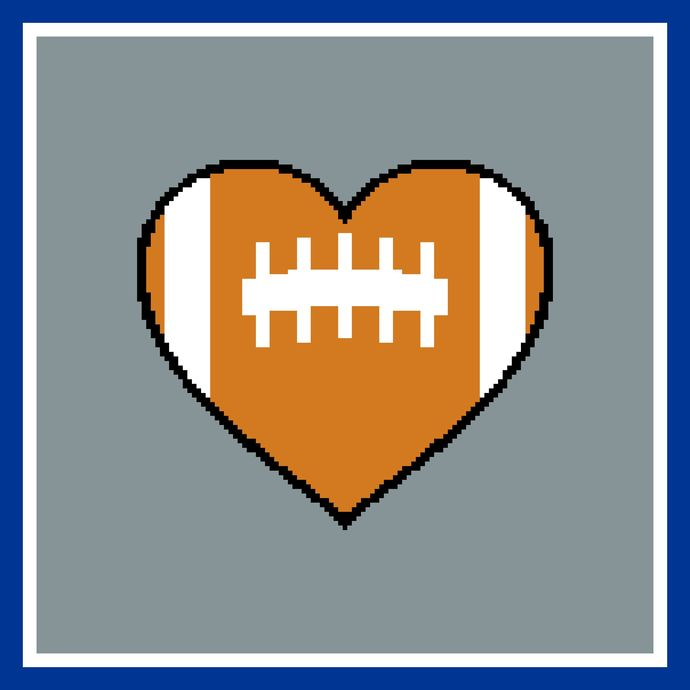 Heart the Dallas Cowboys