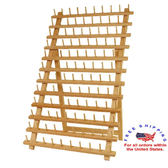 120-Spool Sewing Thread Rack Stand