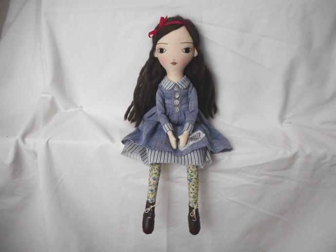 Bree - 40cm Art Doll - Handmade with joy