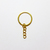 Gold Key Chain Jump Ring