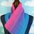 Bi Pride Ombre Cowl