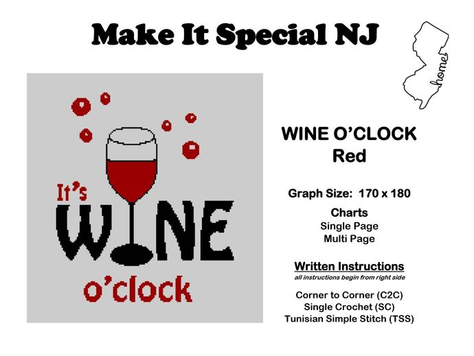 It's Wine O'Clock - Red Wine