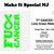 """F"" Cancer - Lime Green Ribbon - Non Hodgkins Lymphoma"