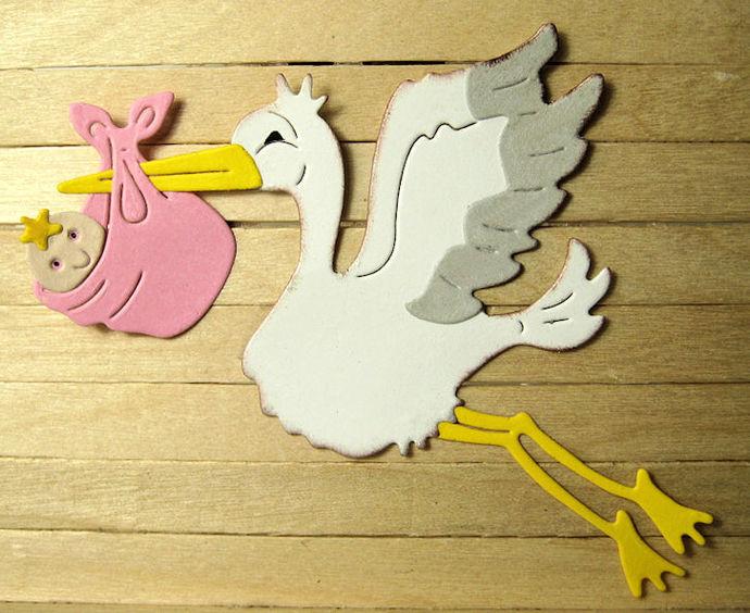 Stork Metal Cutting Die Style #2