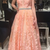 Charming V neck Lace Appliques A Line Prom Dress, Long Evening Party Dress