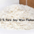 10 Pound Bag 100% SOY WAX FLAKES For Candle Making, Some Cosmetic uses.