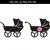 Baby shower SVG, Baby stroller svg,Baby pram stroller clipart,Svg files,SVG Cut