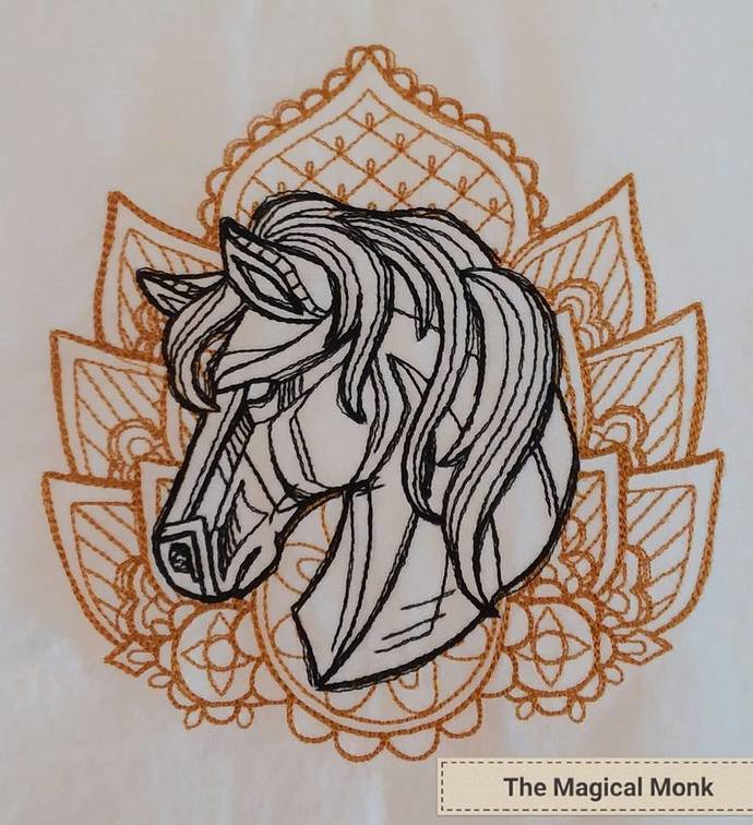 Anima Horse Tea Towel