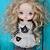 HOLALA custom with mohair hair - Fiona Magician of Halloween