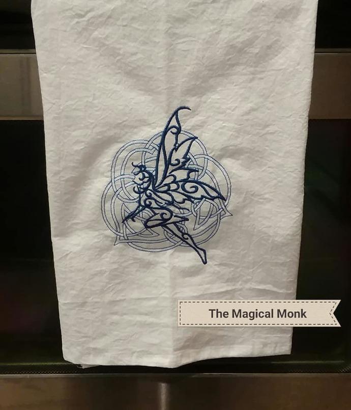 Dark Celt Fea Tea Towel