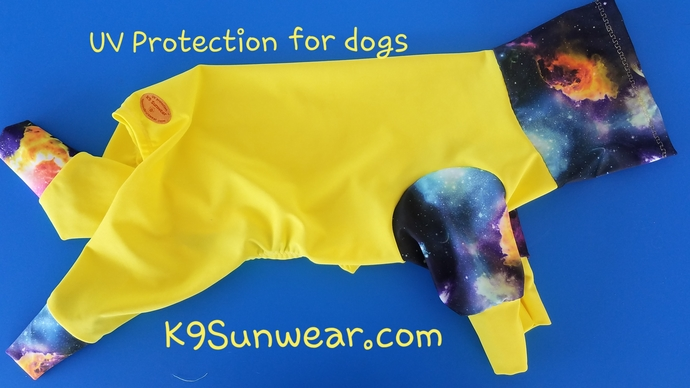 MEDIUM K9 Sunwear Solar Suit UV protection