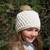 Slouchy Pompom Hat Crochet Beanie Pattern 145 Candy Crochet Hat Baby Toddler
