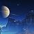 Voyager Moon Cross Stitch Pattern - Instant Digital Downloadable Pattern