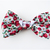 Strawberry Harvest Slide on Bowtie, Removable, Cat Accessories, Spring, Small