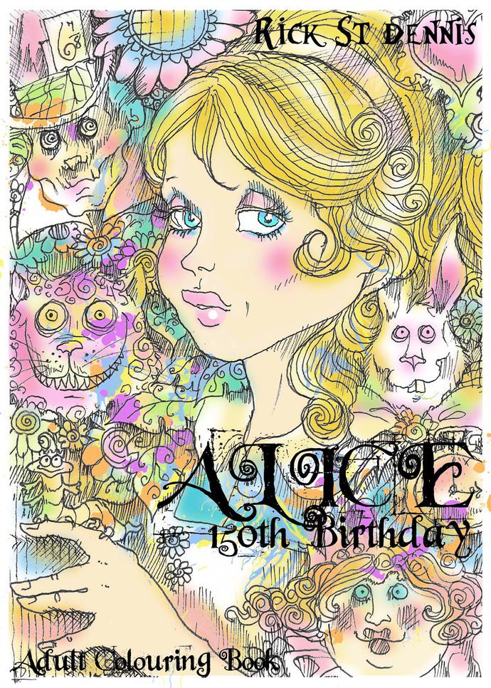 Alice 150 th birthday pdf coloringbook