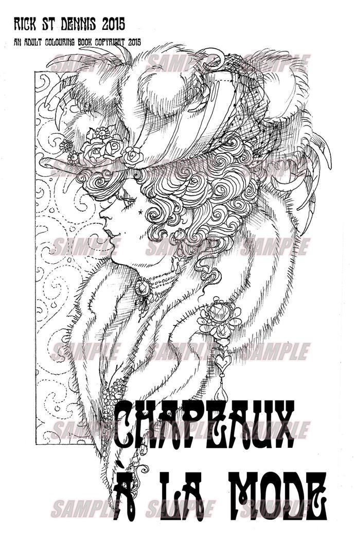 Chapeaux de la Mode, Ladies hats from 1890 to 2015, a PDF downloadable