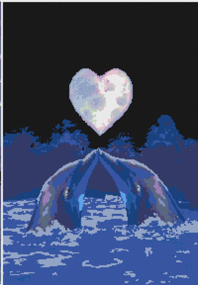 Crochet Dolphin Graph