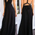 Black Halter Prom Dress Vneck Long Evening Dress Formal Gowns Cheap Q5297
