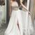 Copy of Long Sleeve Prom Dresses A-line Sparkly Beading Tulle Long Sexy Prom