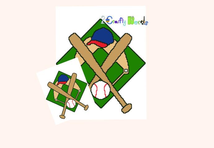 Baseball Pitch Pattern Graph With Single Crochet Written