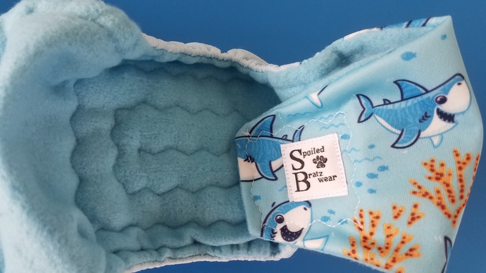 SMALL waterproof bellyband dog diaper--assorted prints