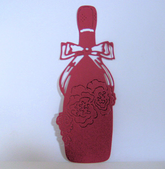 Wine and Roses Cutting Die
