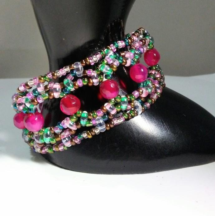 Jewelry Agate Gemstone Handmade Bracelet