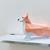 DIY Corgi dog papercraft sculpture,Paper toy,Party decoration,Nursery