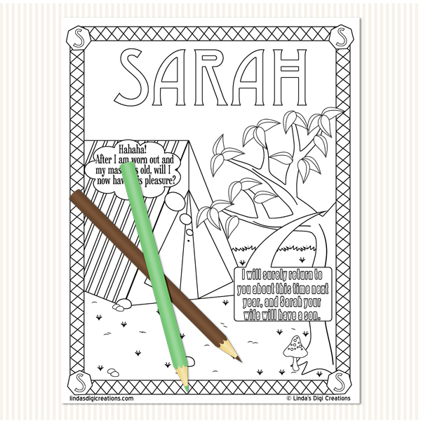 Women Of The Bible Set 1_Printable Coloring Pages