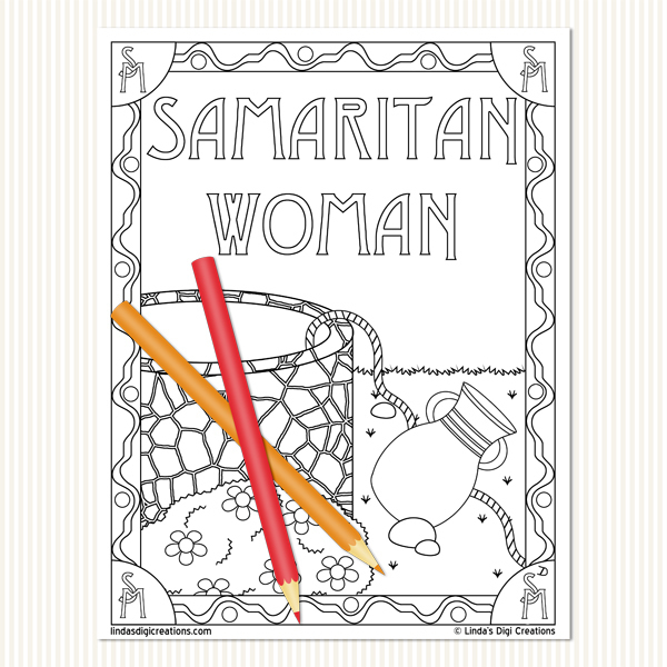 Women Of The Bible Set 2_Printable Coloring Pages
