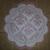 N171 Paper Napkins (Pack of 2) Scallop Edge Napkin, Pink Flourishes and Elegant