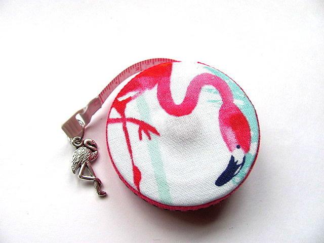 Retractable Tape Measure Flamingo Pocket Measuring Tape