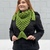 Mermaid Triangle Scarf Crochet Pattern - PATTERN ONLY - Instant Download