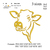 Cow head embroidery design,  Cow embroidery, embroidery pattern N 819  ... 3
