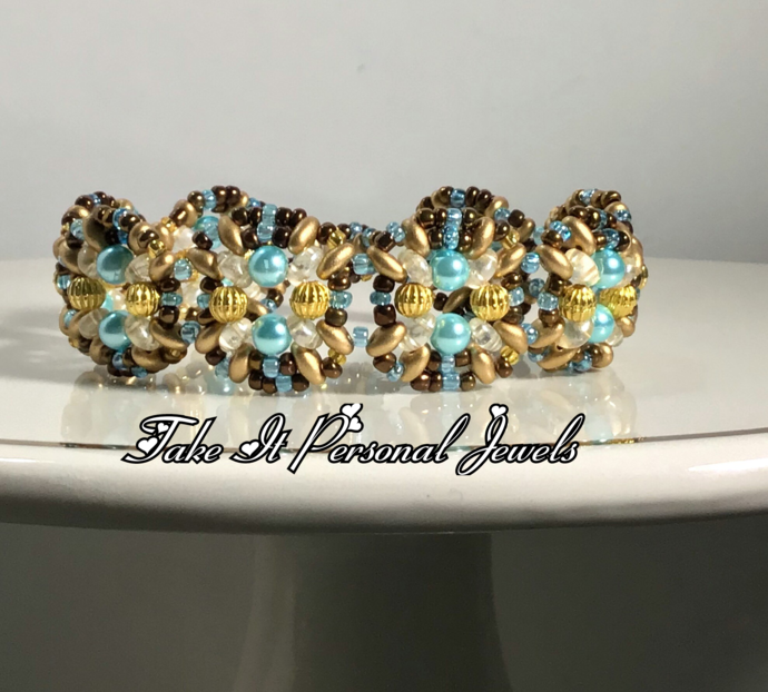 Jewelry Mini Sky blue pearl handmade Bracelet