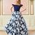 A Line OfftheShoulder Navy Blue Long Prom Dress 2019 Evening Dress A6325