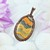 Pendant; Copper Pendant; Wire Wrapped Woven; Bumblebee Jasper (P118)